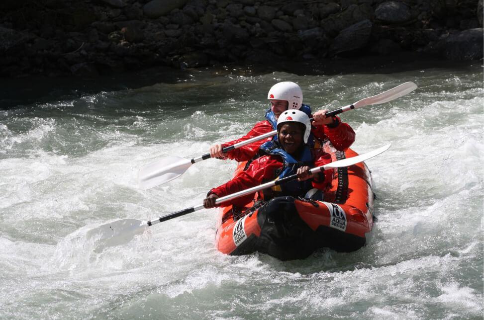 Canoa rafting